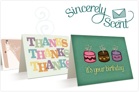 Scented Greeting Cards