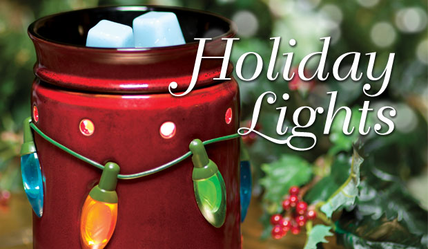 Scentsy November Warmer of the Month - Holiday Lights