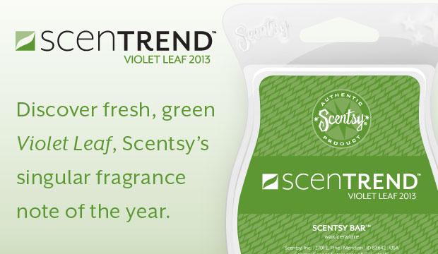 Scentsy ScenTrend 2013: Violet Leaf