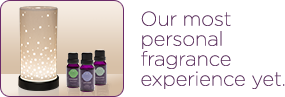 Our most personal fragrance experience yet. The Scentsy Diffuser and Fragrance Oils.