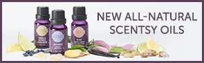 New All-Natural Scentsy Oils