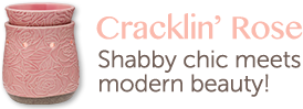Cracklin' Rose. Shabby chic meets modern beauty.