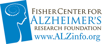Fisher Center for Alzheimer's Research Foundation Logo