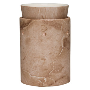 Buy the travertine warmer and wrap from scentsy online