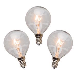 3 Pack 25 Watt Light Bulbs
