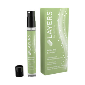 Layers Hand Sanitizer White Tea & Cactus