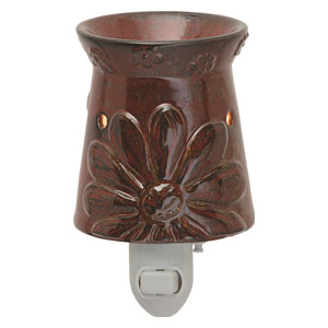 Red flower Plugin Scentsy Warmer Boho Chic