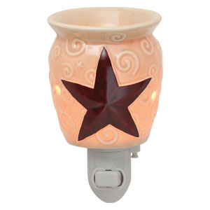 Red star Texas Scentsy plugin warmer