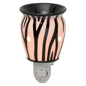 Zebra stripe Scentsy plugin warmer