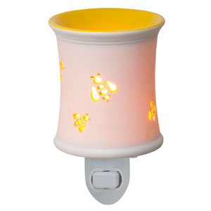 Yellow bee Plugin Scentsy Warmer Bumblebee