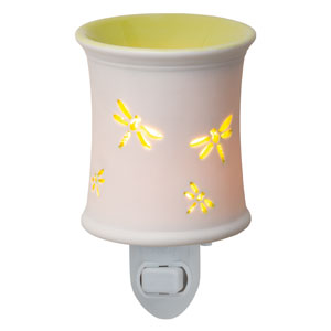 Green dragonfly plugin Scentsy Warmer