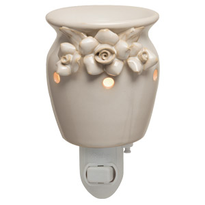 Flowers wedding bridal plug-in Scentsy Warmer