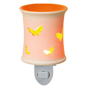 Orange butterfly Plugin Scentsy Warmer