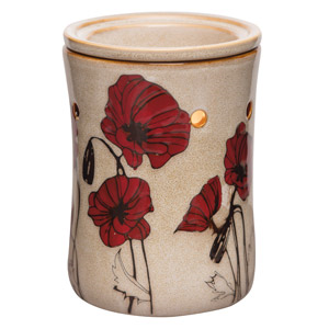 Field of Poppies Scentsy Warmer PREMIUM