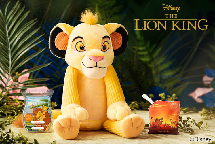 Simba — Scentsy Buddy and his friends are joining The Disney Collection
