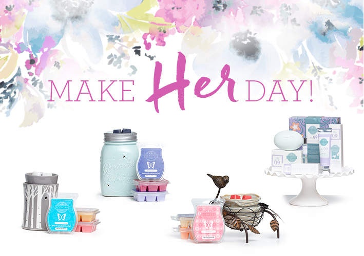 Scentsy gift ideas make it easy to celebrate Mum!