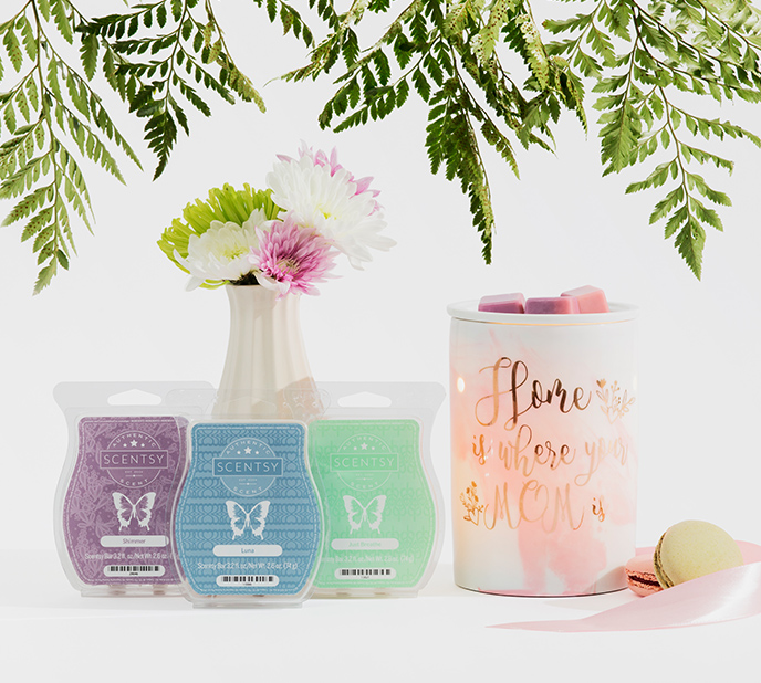 Scentsy gift bundles make it easy to surprise Mom!
