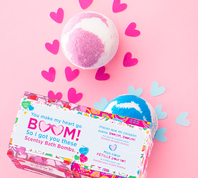 Perfect for your valentine — Scentsy Bath Bomb bundle!