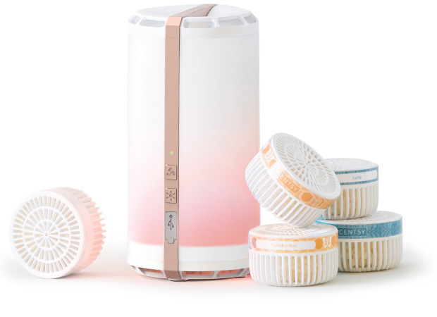 SCENTSY GO PODS AND SCENTSY GO ROSEGOLD INCANDESCENT.SCENTSY.US