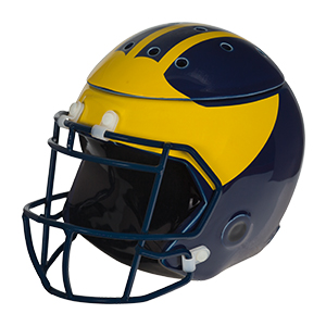 University of Michigan Football Helmets