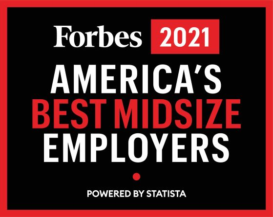 America's Best midsize employers - Forbes 2021
