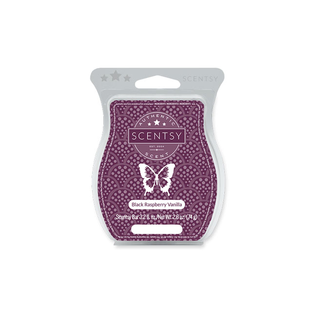 Black Rasberry Vanilla Scentsy Bar