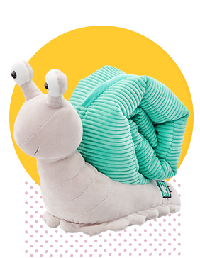 Sia the Snail Scentsy Buddy