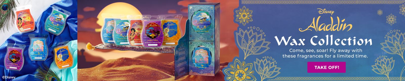 Aladdin Wax Collection