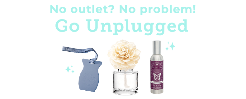 No outlet? No problem! Go unplugged.
