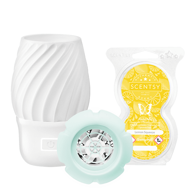 Scentsy Fan Diffuser and Scentsy Pods