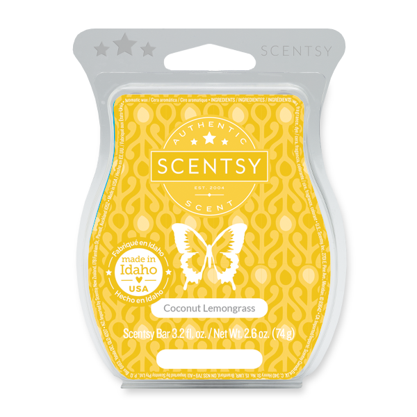 Coconut Lemongrass Scentsy Bar