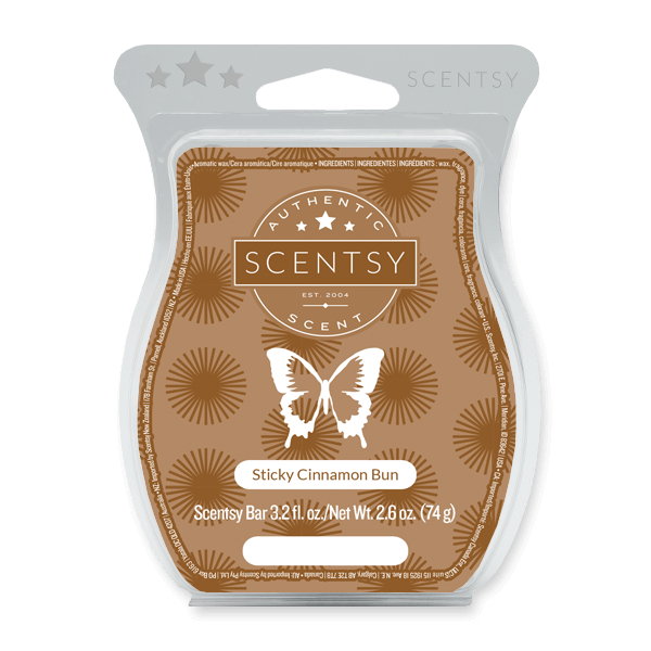 Sticky Cinnamon Bun Scentsy Bar