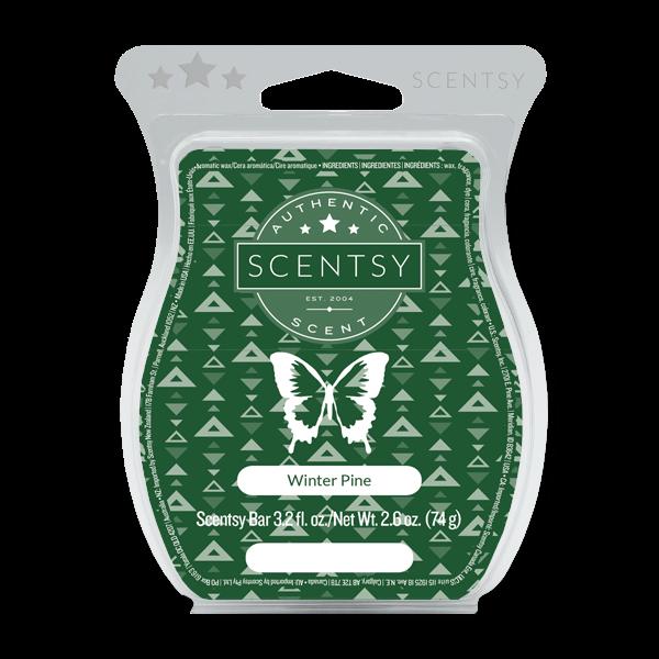 Winter Pine Scentsy Bar