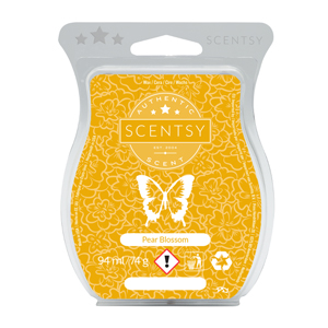 Pear Blossom Scentsy Bar