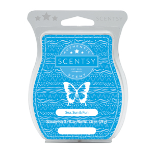 Sea, Sun & Fun Scentsy Bar