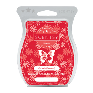 Go Wild(flowers) Scentsy Bar