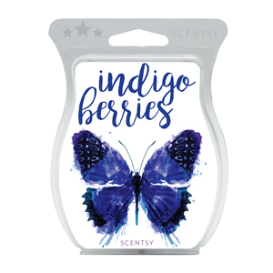 Indigo Berries Scentsy Bar
