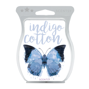 Indigo Cotton Scentsy Bar