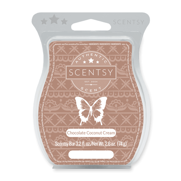 Chocolate Coconut Cream Scentsy Bar