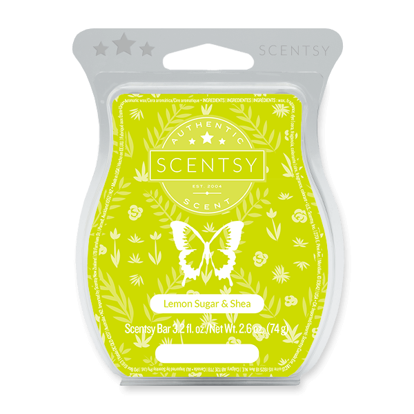 Lemon Sugar & Shea Scentsy Bar