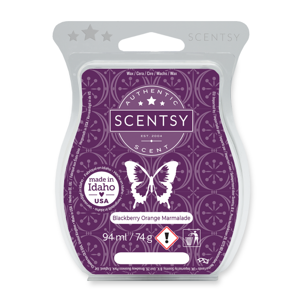 Blackberry Orange Marmalade Scentsy Bar