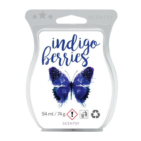 Indigo Berries Scentsy Bar