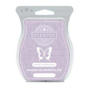 Lavender & White Balsam Scentsy Bar