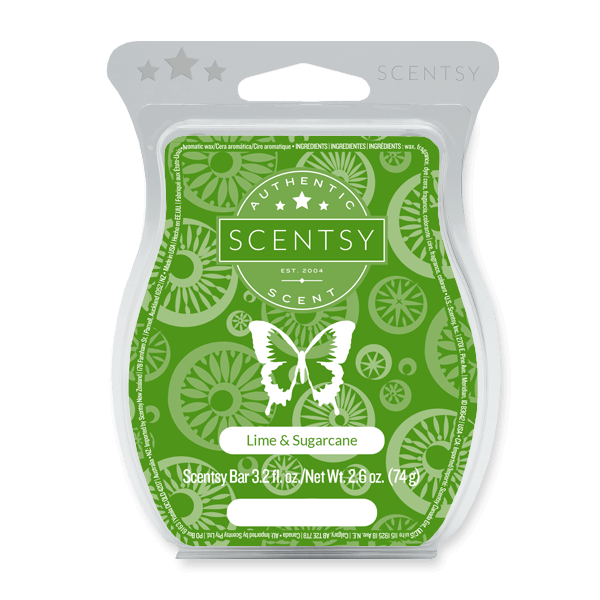 Lime & Sugarcane Scentsy Bar