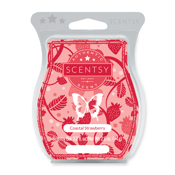 Coastal Strawberry Scentsy Bar