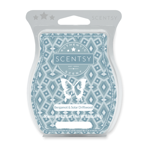 Bergamot and Solar Driftwood (no. 71) Scentsy Bar