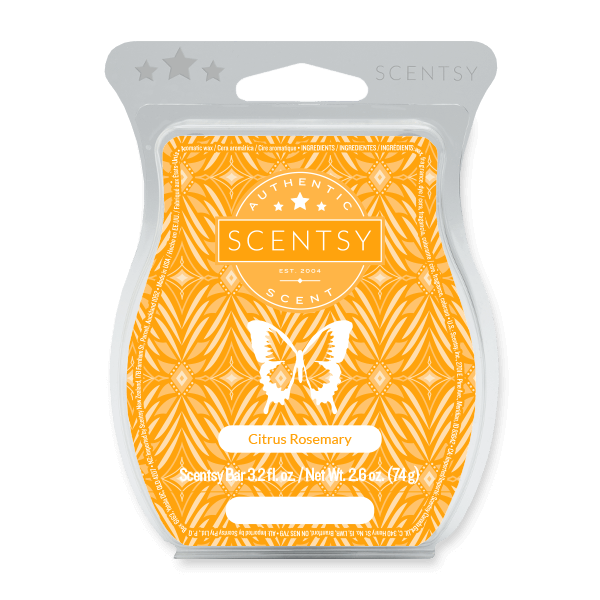 Citrus Rosemary Scentsy Bar