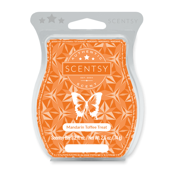 Mandarin Toffee Treat Scentsy Bar