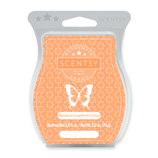 Mandarin Grapefruit Amber (No. 36) Scentsy Bar