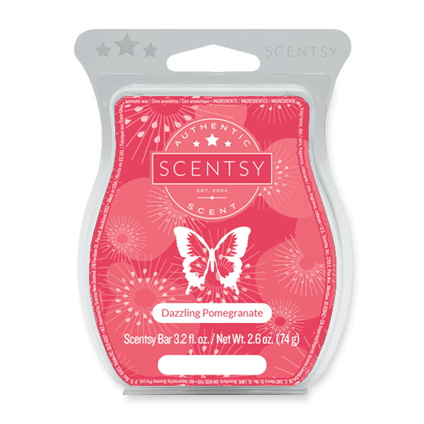 Dazzling Pomegranate Scentsy Bar